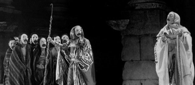 """""""Las piedras se conmovieron con el mito de Edipo"""""""