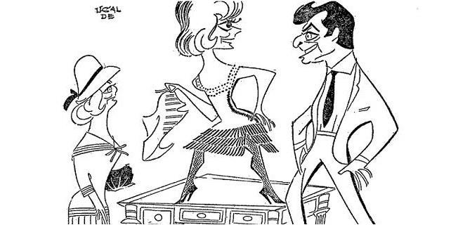 Alberto Closas y Cary Grant