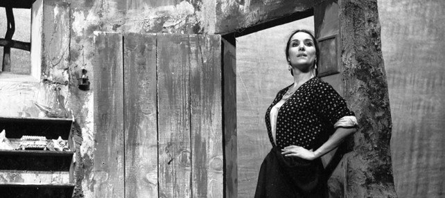 Tamayo estrena 'Divinas palabras' en el Teatro Bellas Artes.