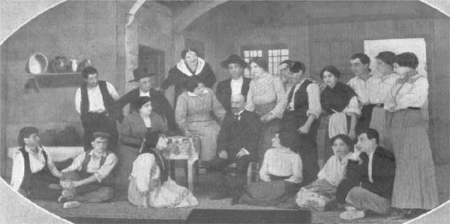 El estreno de 'La malquerida', de Jacinto Benavente