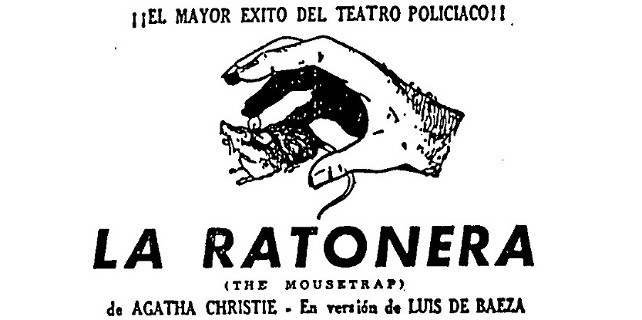 Llega a España 'La ratonera' de Agatha Christie.