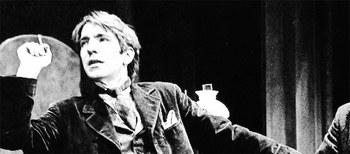 Alan Rickam, del teatro a Hollywood