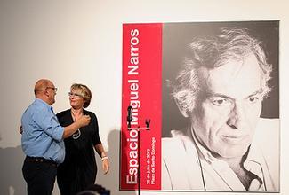 Almagro dedica uno de sus espacios a Miguel Narros