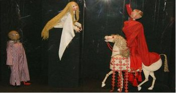 Colección de títeres de Francisco Peralta
