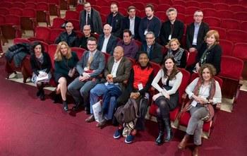 Contra la exclusión social, teatro