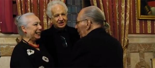 Cristina Hoyos y Salvador Távora, nombrados Miembros de Honor de la Academia de las Artes Escénicas de España