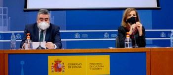 El apoyo al sector, el Centro Nacional de Difusión de la Danza y la reforma del INAEM, prioridades fundamentales para 2021