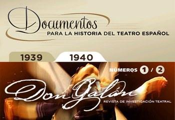 El Centro de Documentación Teatral presenta sus publicaciones on line