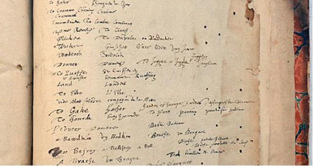 El diccionario que pudo pertenecer a William Shakespeare