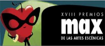 Emisión en directo de la XVIII edición de los Premios Max