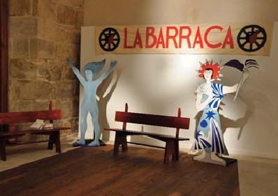 Una exposición en la Biblioteca María Zambrano rememora La Barraca