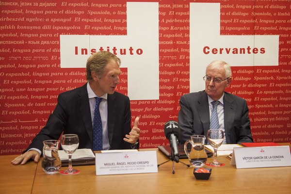 INAEM e Instituto Cervantes firman un convenio
