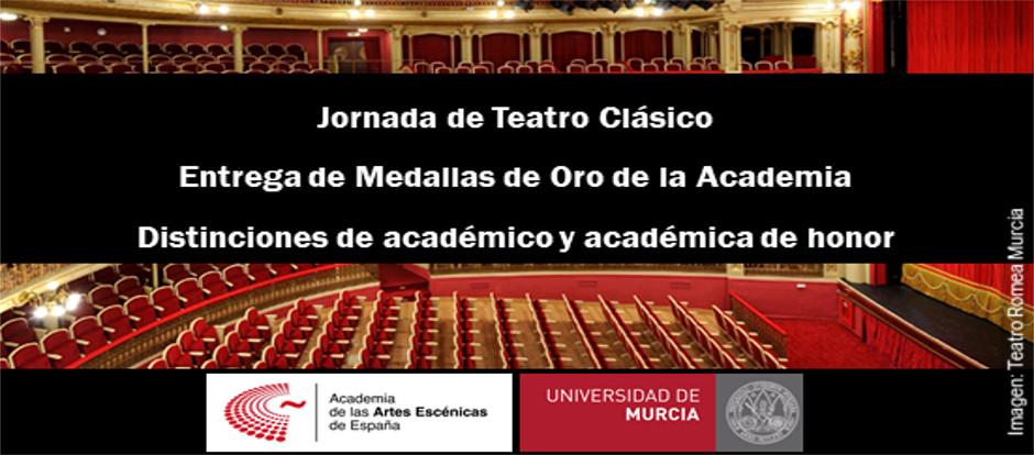 La Academia de las Artes Escénicas distingue en Murcia a José Sacristán, Lola Herrera y Alonso de Santos