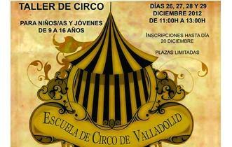 La Escuela de Circo comienza a impartir sus talleres y cursos