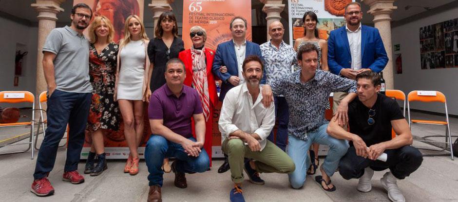 Las 'Metamorfosis' de Ovidio llegan a Mérida narradas por Concha Velasco