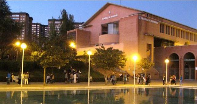 Las instalaciones del Teatro de Madrid se encuentran abandonadas