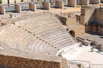 Los arqueólogos descubren que junto al Teatro de Itálica había un templo de Isis