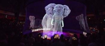 Los hologramas, una alternativa a los circos con animales