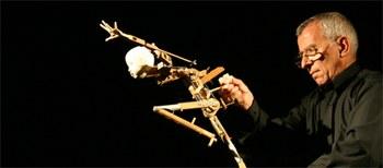 Muere el marionetista Francisco Peralta a los 87 años