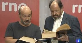RNE comienza a grabar 'El Quijote' con José María Pou y Javier Cámara