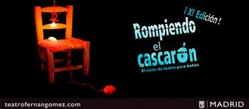 'Rompiendo el Cascarón', teatro para bebés en el Fernán Gómez de Madrid