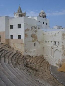 Se reanudarán las obras en el Teatro Romano de Cádiz